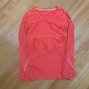 Athleta small Lacey red top